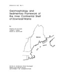 Geomorphology and sedimentary framework of the inner continental shelf of Downeast Maine