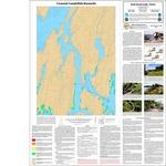 Coastal landslide hazards in the Bath quadrangle, Maine