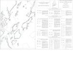 Coastal marine geologic environments of the Portland East quadrangle, Maine
