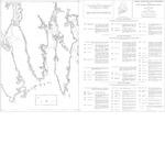 Coastal marine geologic environments of the Petit Manan quadrangle, Maine
