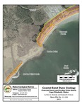 Coastal sand dune geology: Crescent Beach and Jordan Point Beach, Cape Elizabeth, Maine
