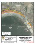 Coastal sand dune geology: Crescent Beach State Park, Cape Elizabeth, Maine