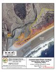Coastal sand dune geology: Seawall Beach, Sprague River, Phippsburg, Maine