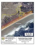 Coastal sand dune geology: Seawall Beach, Phippsburg, Maine