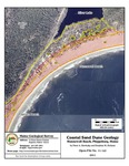 Coastal sand dune geology: Hunnewell Beach, Phippsburg, Maine