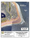 Coastal sand dune geology: Hunnewell Beach, River Beach, Phippsburg, Maine
