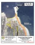 Coastal sand dune geology: River Beach, Fort Popham, Phippsburg
