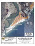 Coastal sand dune geology: Half Mile Beach, Reid State Park, Georgetown, Maine