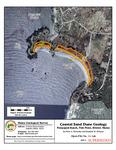 Coastal sand dune geology: Pemaquid Beach, Fish Point, Bristol, Maine
