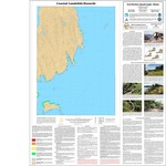 Coastal landslide hazards in the Seal Harbor quadrangle, Maine