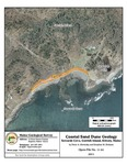 Coastal sand dune geology: Sewards Cove, Gerrish Island, Kittery, Maine