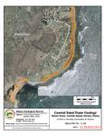 Coastal sand dune geology: Sisters Point, Gerrish Island, Kittery, Maine