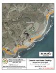 Coastal sand dune geology: Raynes Neck, York, Maine
