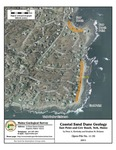 Coastal sand dune geology: East Point and Cow Beach, York, Maine by Peter A. Slovinsky and Stephen M. Dickson