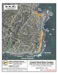 Coastal sand dune geology: East Point and Cow Beach, York, Maine