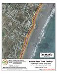 Coastal sand dune geology: Long Beach, Central, York, Maine