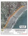 Coastal sand dune geology: Long Beach, North, York, Maine