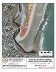 Coastal sand dune geology: Ogunquit Beach, South, Ogunquit, Maine