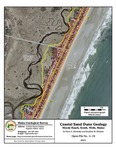 Coastal sand dune geology: Moody Beach, South, Wells, Maine