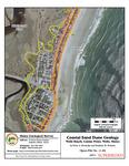Coastal sand dune geology: Wells Beach, Casino Point, Wells, Maine