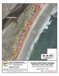 Coastal sand dune geology: Wells Beach Central, Wells, Maine
