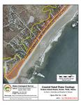 Coastal sand dune geology: Drakes Island Beach South, Wells, Maine