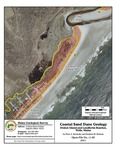 Coastal sand dune geology: Drakes Island and Laudholm Beaches, Wells, Maine