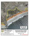 Coastal sand dune geology: Parsons Beach, Kennebunk, Maine