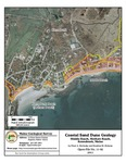 Coastal sand dune geology: Middle Beach, Mothers Beach, Kennebunk, Maine