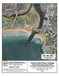 Coastal sand dune geology: Goochs Beach and Colony Beach, Kennebunk and Kennebunkport, Maine