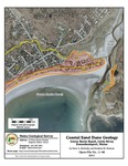 Coastal sand dune geology: Goose Rocks Beach, Little River, Kennebunkport, Maine