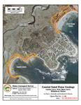 Coastal sand dune geology: Curtis Cove, New Barn Cove, Biddeford, Maine