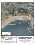 Coastal sand dune geology: Mile Stretch Beach, South Point, Biddeford, Maine