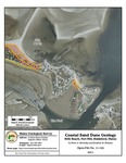 Coastal sand dune geology: Hills Beach, Fort Hill, Biddeford, Maine