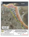 Coastal sand dune geology: Hills Beach, Saco River, Biddeford