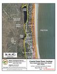 Coastal sand dune geology: Ferry Beach State Park, Ferry Beach, Saco, Maine