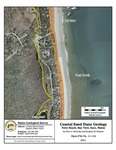 Coastal sand dune geology: Ferry Beach, Bay View, Saco, Maine
