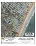 Coastal sand dune geology: Old Orchard Beach, West Grand Avenue, Old Orchard Beach, Maine
