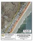 Coastal sand dune geology: Old Orchard Beach, East Grand Avenue, Old Orchard Beach, Maine
