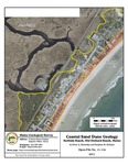 Coastal sand dune geology: Surfside Beach, Old Orchard Beach, Maine