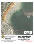 Coastal sand dune geology: Scarborough Beach, Prouts Neck, Scarborough, Maine