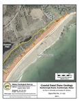 Coastal sand dune geology: Scarborough Beach, Scarborough, Maine