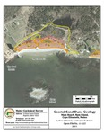 Coastal sand dune geology: Main Beach, Ram Island, Cape Elizabeth, Maine