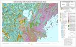 Surficial geology of the Portland 1:100,000 quadrangle, Maine