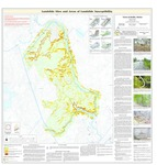 Landslide sites and areas of landslide susceptibility in the town of Hollis, Maine