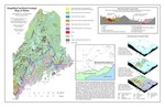 Simplified surficial geologic map of Maine