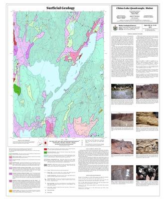 China Lake Maine Map.Maine Geological Survey Maps Geological Survey Maine State Library