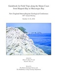 Guidebook for field trips along the Maine coast from Maquoit Bay to Muscongus Bay
