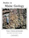 Studies in Maine geology:  Volume 1 - Structure and stratigraphy