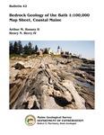 Bedrock geology of the Bath 1:100,000 map sheet, coastal Maine